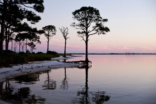St. George Island, Florida, State Park, Bay, Beach, Sunset
